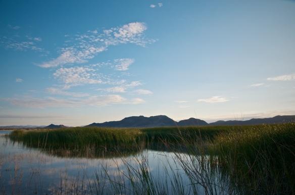 Sunrise at Crystal Reservoir